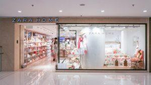 Zara Home shop Harbour City Hong Kong.