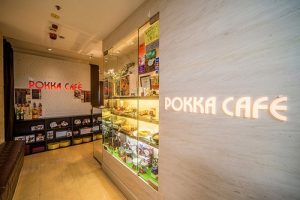 Pokka Café restaurant Cityplaza Hong Kong.