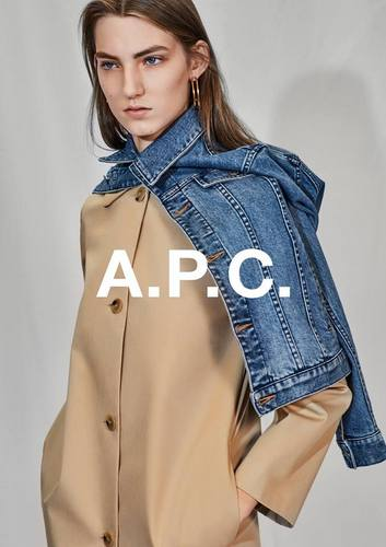 A.P.C. clothing, available in Hong Kong.