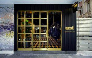 Ami clothing store at Fashion Walk mall in Hong Kong.