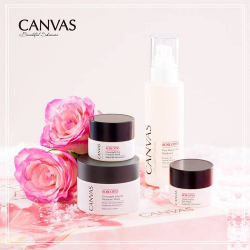 CANVAS cosmetics, available in Hong Kong.