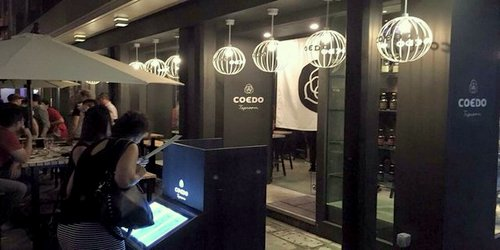 Coedo Taproom pub at Fashion Walk mall in Hong Kong.