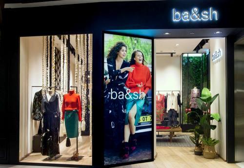 ba&sh clothing store at IFC Mall in Hong Kong.