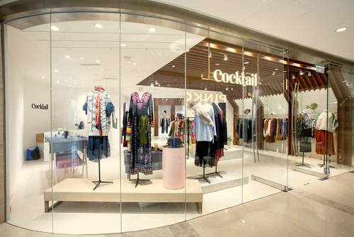 Cocktail clothing and lifestyle store in Hong Kong.