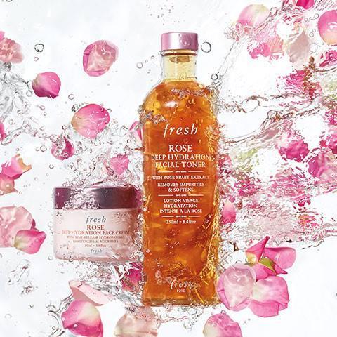 Fresh Rose Deep Hydrating Facial Toner, available in Hong Kong.
