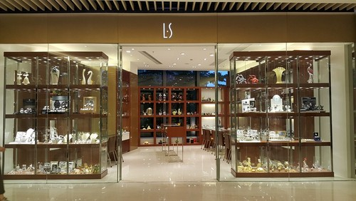 LS Collection store in Hong Kong.