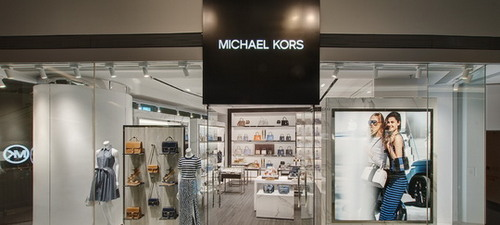 Michael Kors boutique at Festival Walk mall in Hong Kong.