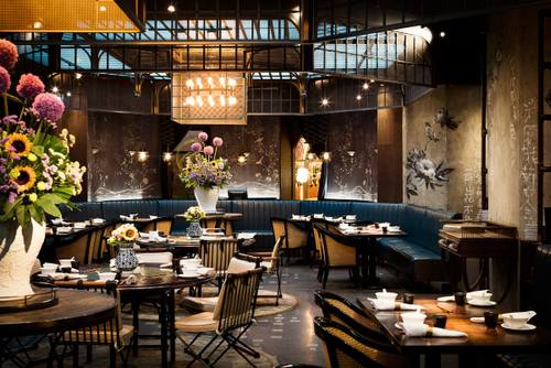 Mott 32 Chinese restaurant in Hong Kong.