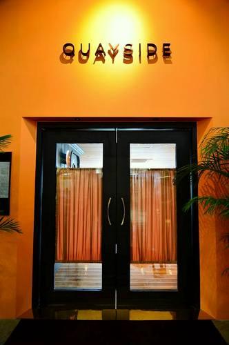 Quayside Harbour Front Restaurant & Bar in Hong Kong.
