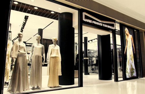 Marie France Van Damme clothing store at Elements mall in Hong Kong.
