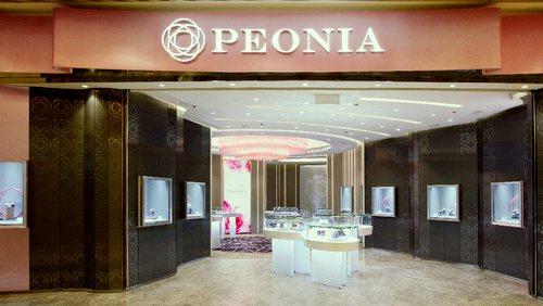 Peonia Diamond flagship store at Elements mall in Hong Kong.