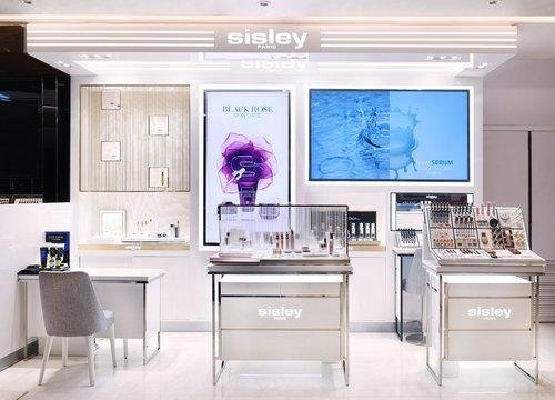 Sisley Paris makeup in Hong Kong.