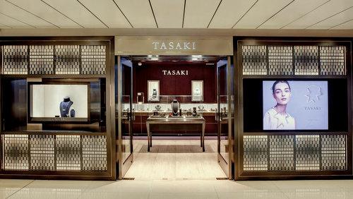 Tasaki jewellery store at Lee Gardens in Hong Kong.