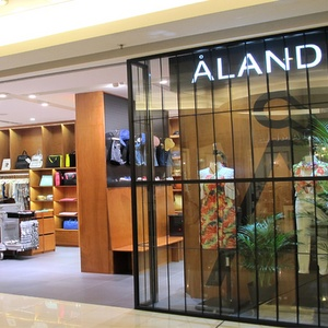 Åland clothing store APM shopping mall Hong Kong