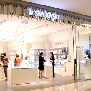 Swarovski jewellery store APM shopping mall Hong Kong