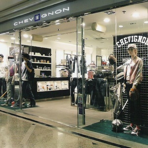 Chevignon clothing store Times Square Hong Kong