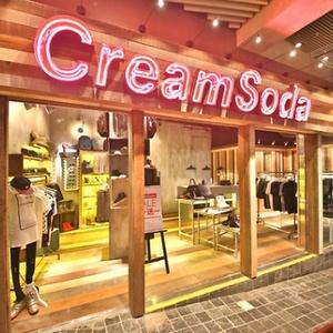 CreamSoda store Langham Place Hong Kong