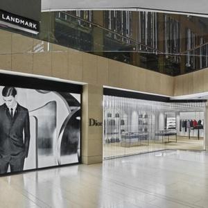 Dior Homme store The Landmark Hong Kong