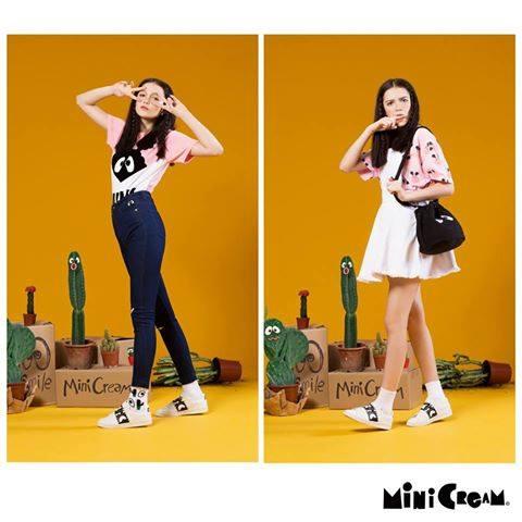 Mini Cream streetwear fashion.