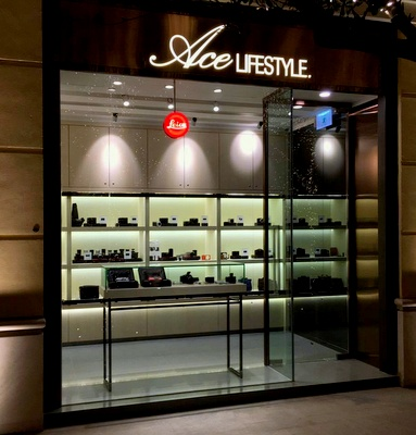 Ace Lifestyle camera & accessories shop in Wan Chai, Hong Kong.