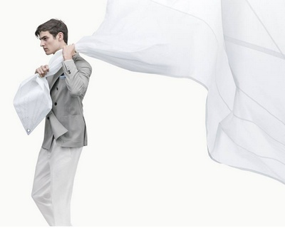 Bruno Cucinelli menswear, available at The Swank shop in Hong Kong.
