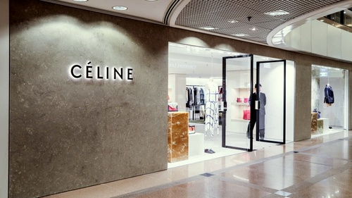 Céline clothing store at Ocean Centre mall in Hong Kong.
