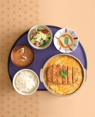 Dondonya restaurant's donburi, a rice bowl Japanese food.
