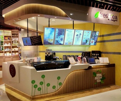 freshtea by happylemon tea house in Hong Kong