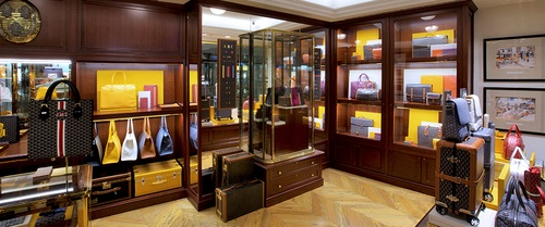 Goyard shop at Pacific Place shopping mall in Hong Kong.