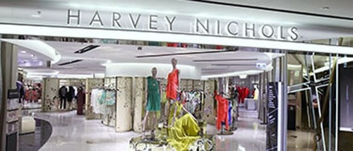 Harvey Nichols store at Pacific Place in Hong Kong.