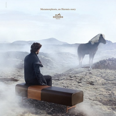 Hermès metamorphosis ad.