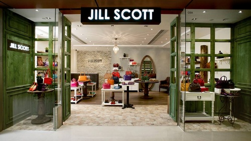 Telford Plaza Jill Scott store in Hong Kong.