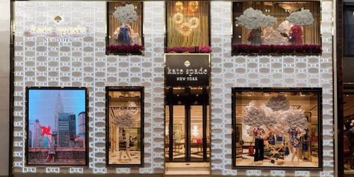 Kate Spade flagship store at Fashion Walk in Hong Kong.