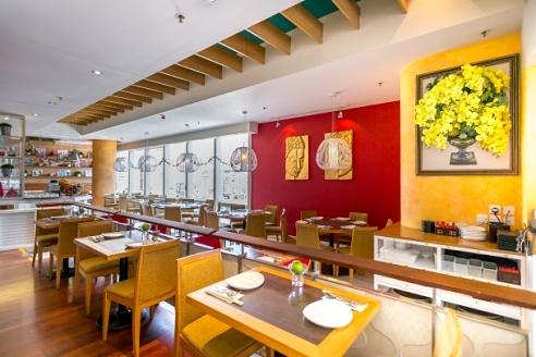 King & I Thai & Vietnamese restaurant within APM mall in Hong Kong.