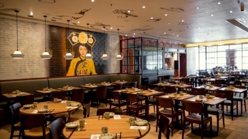 Kingduck Chinese restaurant in Hong Kong.