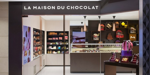 La Maison du Chocolat shop at Landmark Prince's mall in Hong Kong.