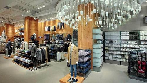 MUJI design store in Hong Kong.