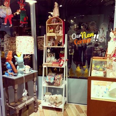 Mushroom design shop in Hong Kong.