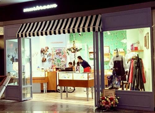 Mushroom Shop at Langham Place mall in Hong Kong.