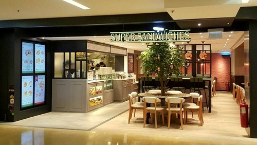 Oliver's Super Sandwiches restaurant at Cityplaza shopping mall in Hong Kong.