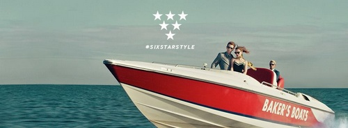 Ted Baker ad Six Star Style.