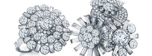 Tiffany & Co.'s diamond jewelry, available in Hong Kong.