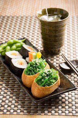 Wasabi Warriors sushi meal in Hong Kong.