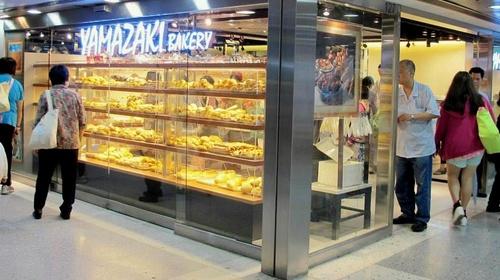 Yamazaki bakery store in Hong Kong.