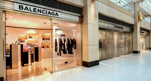 Balenciaga shop Landmark Hong Kong.