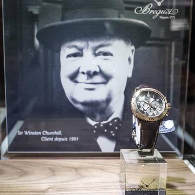 Breguet watch Winston Churchill.