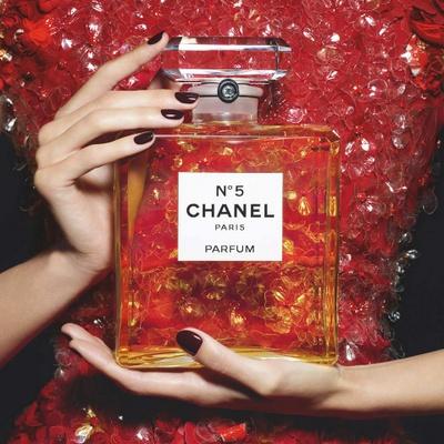 Chanel No. 5 perfume.