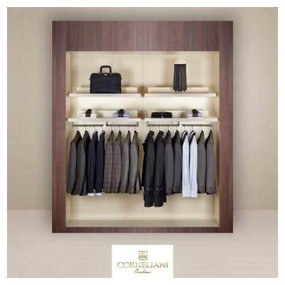 Corneliani wardrobe.