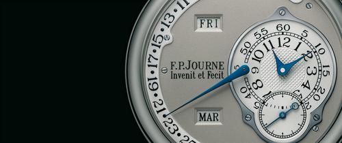 """F.P. Journe """"Invenit et Fenit"""" watch."""