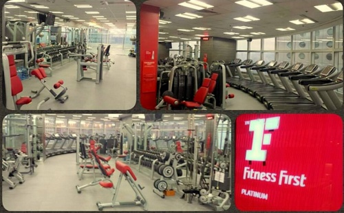 Fitness First Landmark One Exchange Square Hong Kong.
